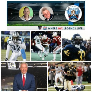 Muhsin Muhammad, Tony Collins, Eugene Napoleon, Paul Alexander, & Boo Williams Join Us on this Edition of Thursday Night Tailgate NFL Podcast