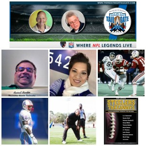 Russell Baxter, Jule Voigt, Tony Collins, Cris Dishman, Todd Washington, & Ron Lippock Join Us on Thursday Night Tailgate NFL Podcast