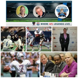 Leonard Marshall, Tony Collins, James Allen, Dan Pastorini, & Gay Culverhouse Join Us on Thursday Night Tailgate NFL Podcast