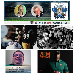 Levon Kirkland, Tony Collins, Russell Baxter, and Willie Simmons Join Thursday Night Tailgate NFL Podcast