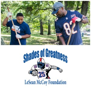 Thursday Night Tailgate NFL Podcast Spotlight on the Positive: Wendell Davis & the Chicago Bears + LeSean McCoy
