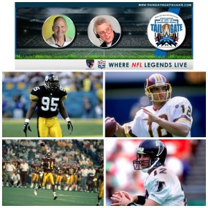 Football Legends Greg Lloyd, Gus Frerotte, Rickey Foggie, & Chris Miller Tell It Like It Is On A Special 8th Anniversary Edition of Thursday Night Tailgate NFL Podcast