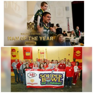 Thursday Tailgate Spotlight on the Positive: Packers LB Blake Martinez and the Chiefs Souper Bowl Week of Caring