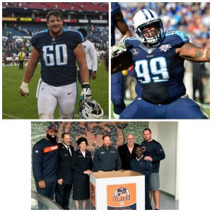 Thursday Night Tailgate NFL Podcast Spotlight on the Positive: Titans Ben Jones & Jurrell Casey + the Chicago Bears Team Up with the Salvation Army