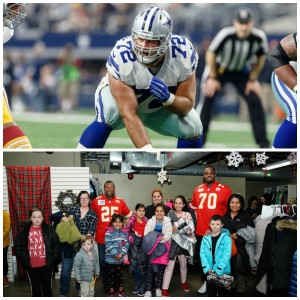 Thursday Night Tailgate Spotlight on the Positive: Cowboys Travis Fredrick + Chiefs Mark Collins & Greg Senat