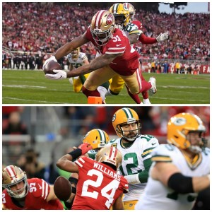 Thursday Night Tailgate Unsung Heroes of the Week: Undrafted Free Agents Raheem Mostert & K'Waun Williams of the 49ers