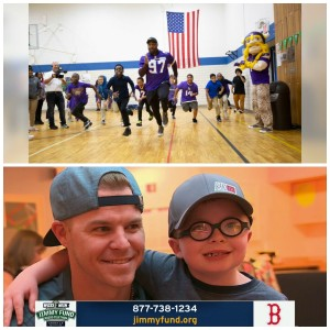 Thursday Night Tailgate Community Spotlight on the Positive: Vikings DE Everson Griffin & Red Sox INF Brock Holt