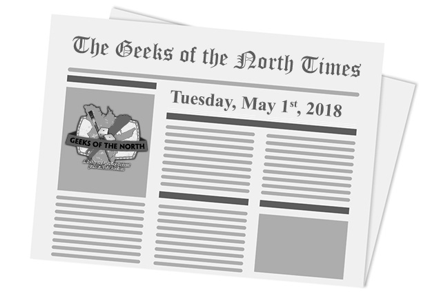 News of the North - 2018-05-01
