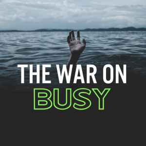 You're Too Busy to Fight (29th Sunday in OT, October 20, 2019)