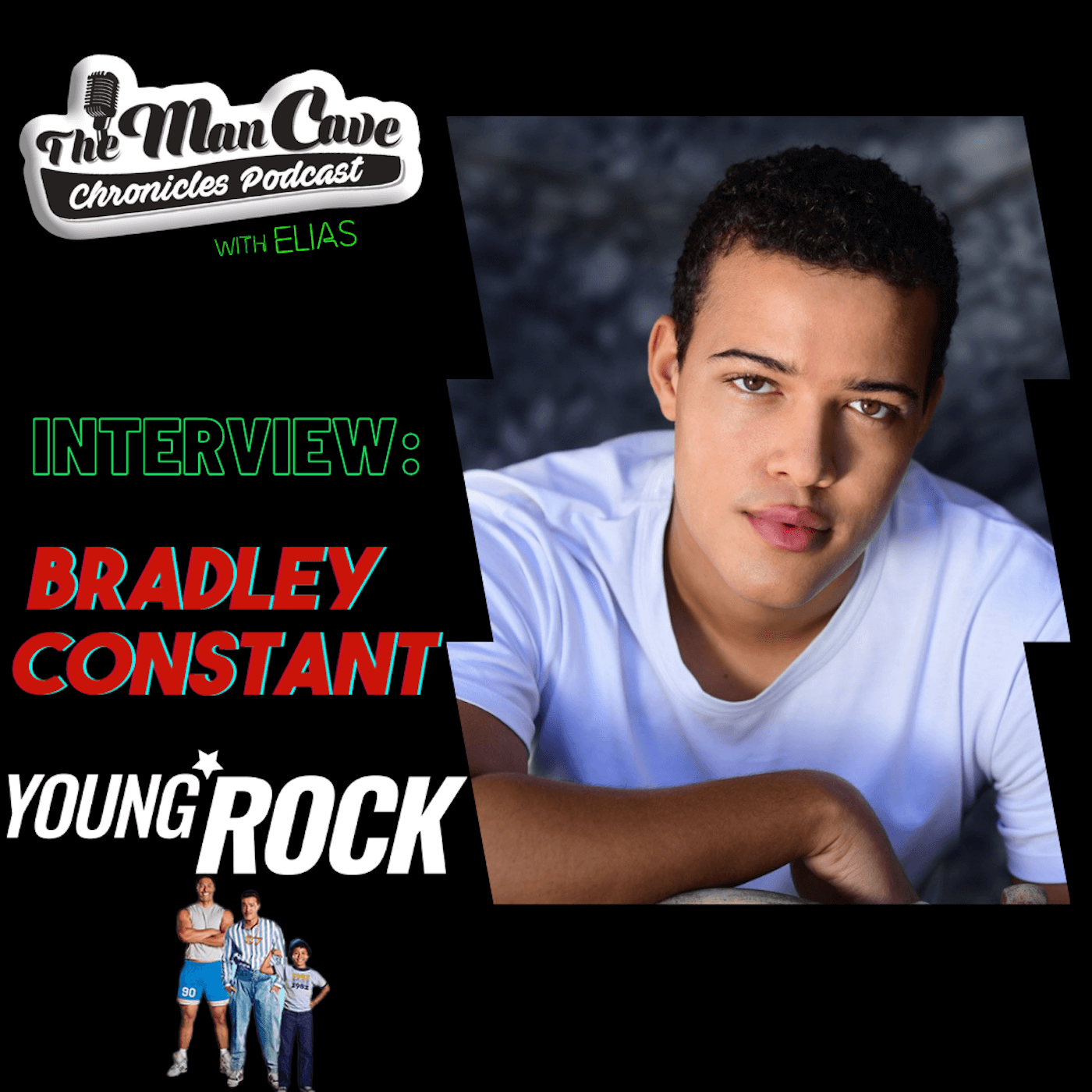 Interview: Bradley Constant on playing Dwayne Johnson on NBC's Young Rock