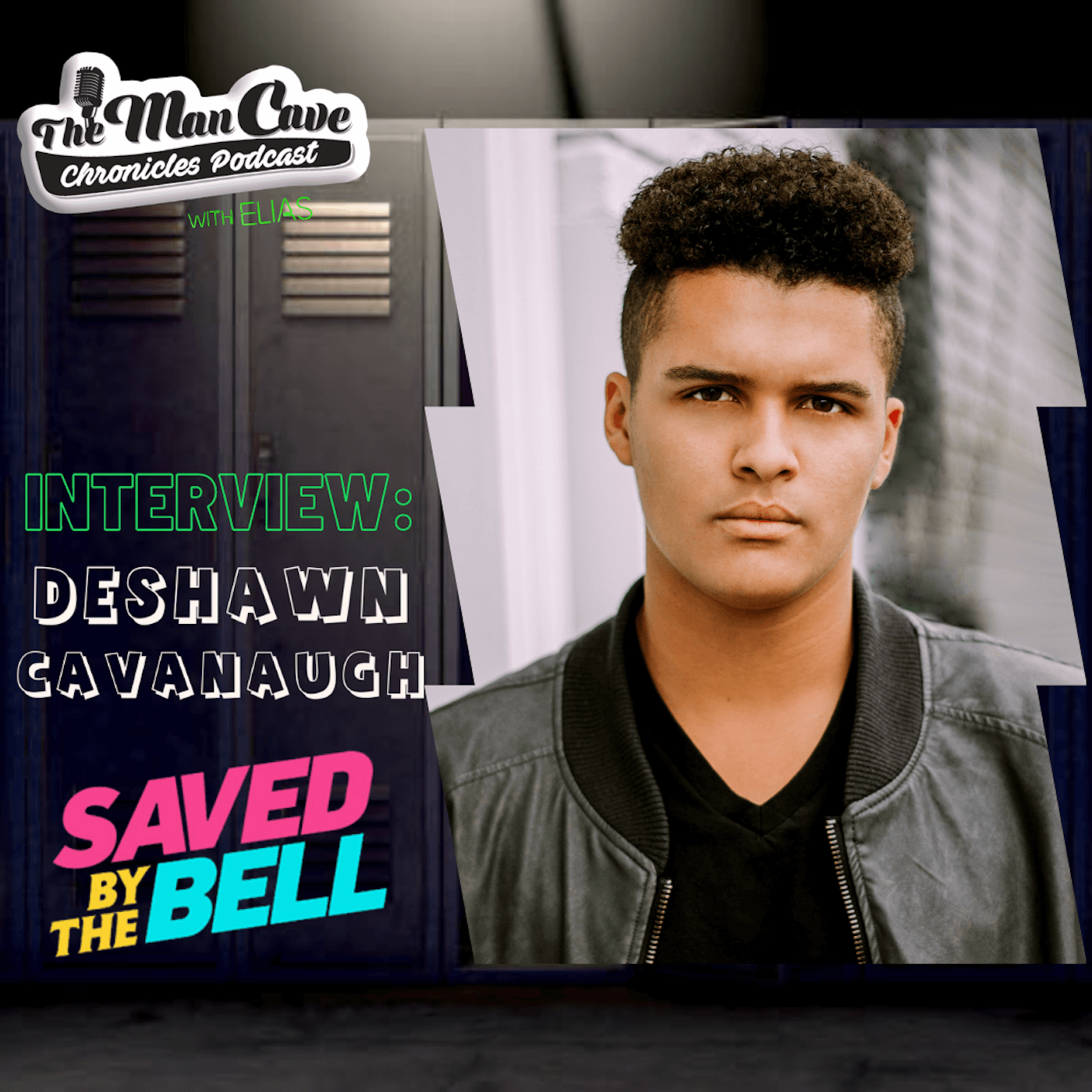 DeShawn Cavanaugh talks about playing Colt Cassidy on Peacock's Saved By The Bell