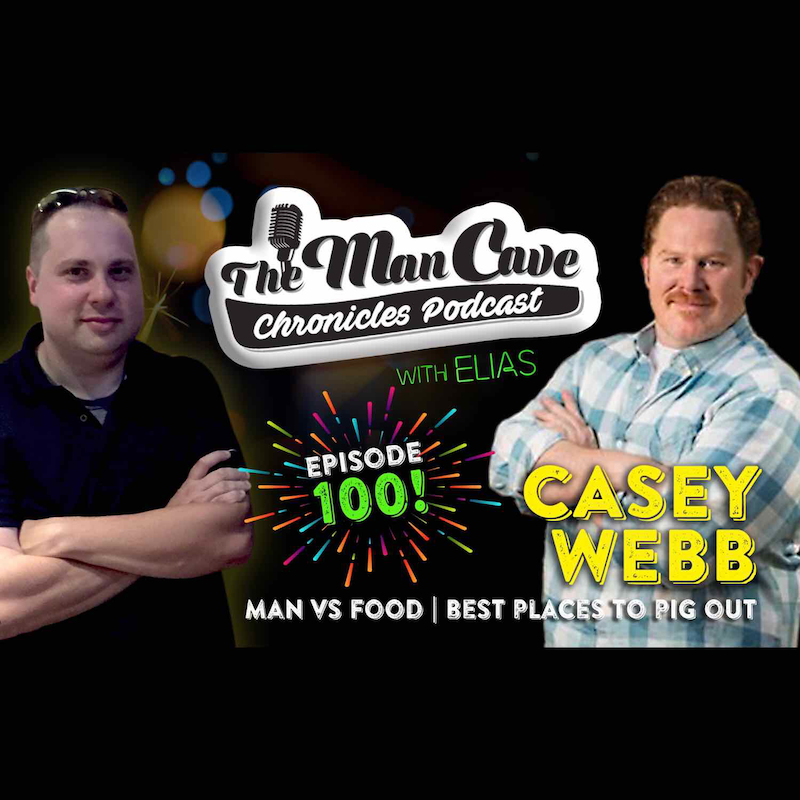 """Interview: Casey Webb """"Man vs Food"""" """"Best Places to Pig Out"""""""