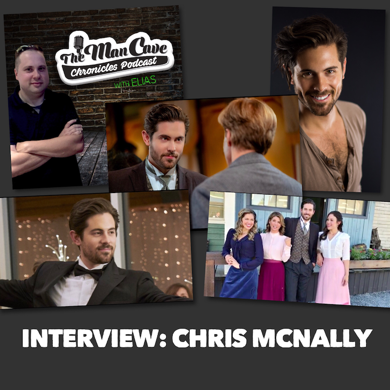 """Chris McNally talks about his role on """"When Calls the Heart"""""""