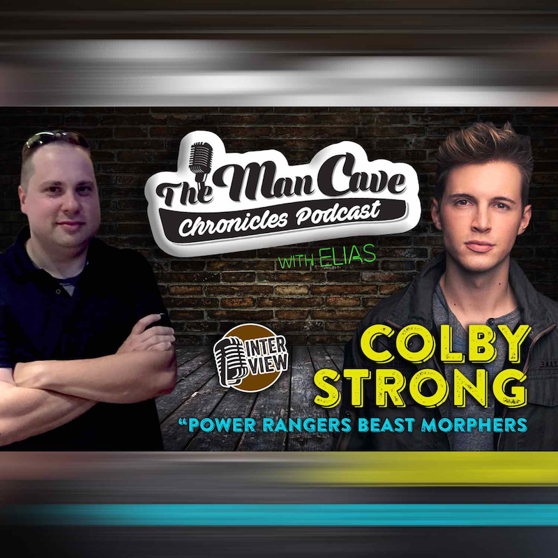 """Interview: Colby Strong """"Power Rangers Beast Morphers"""""""