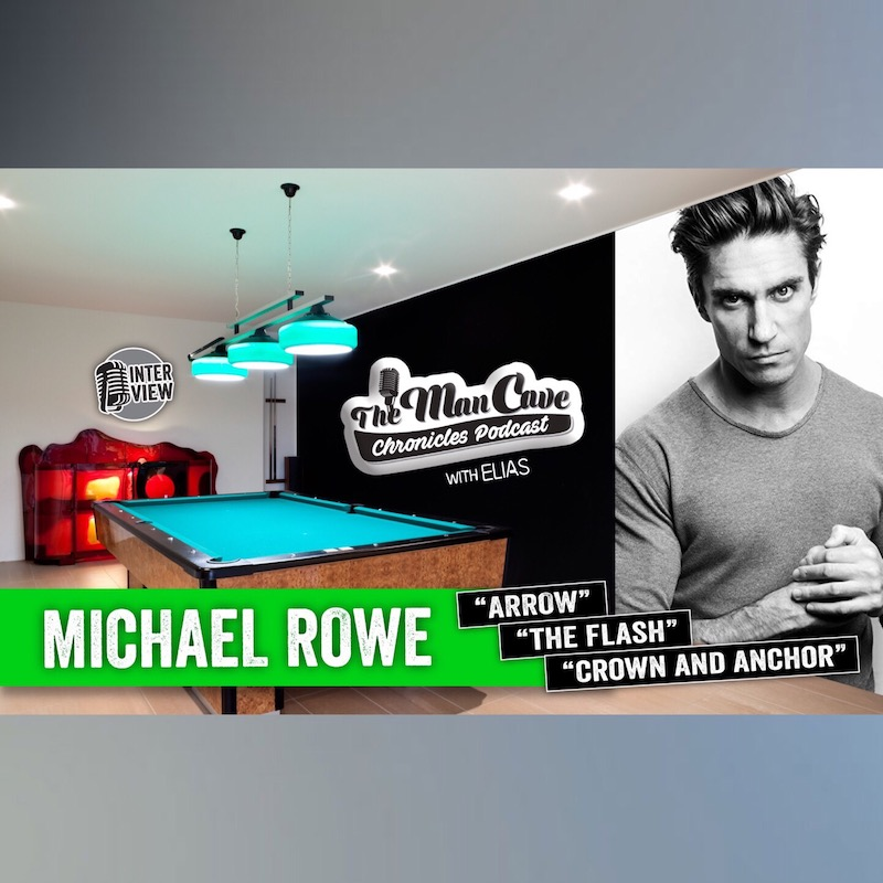 """Interview: Michael Rowe """"Arrow"""" """"Crown and Anchor"""""""
