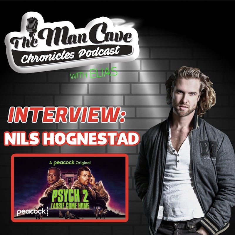 """Nils Hognestad talks about his role on Peacock's """"Psych 2: Lassie Come Home"""""""