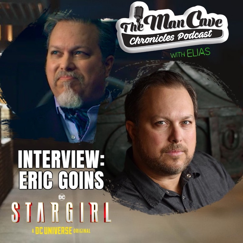 Eric Goins talks about playing The Gambler on DC's Stargirl