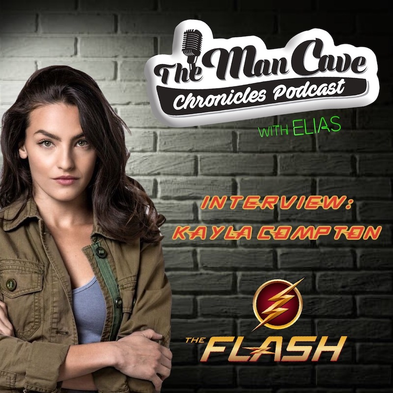 """Kayla Compton talks about playing Allegra Garcia on CW's """"The Flash"""""""