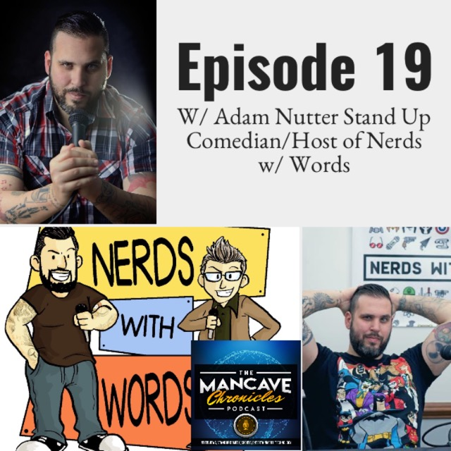 Interview: Adam Nutter Stand Up Comedian/Host of Nerds w/ Words