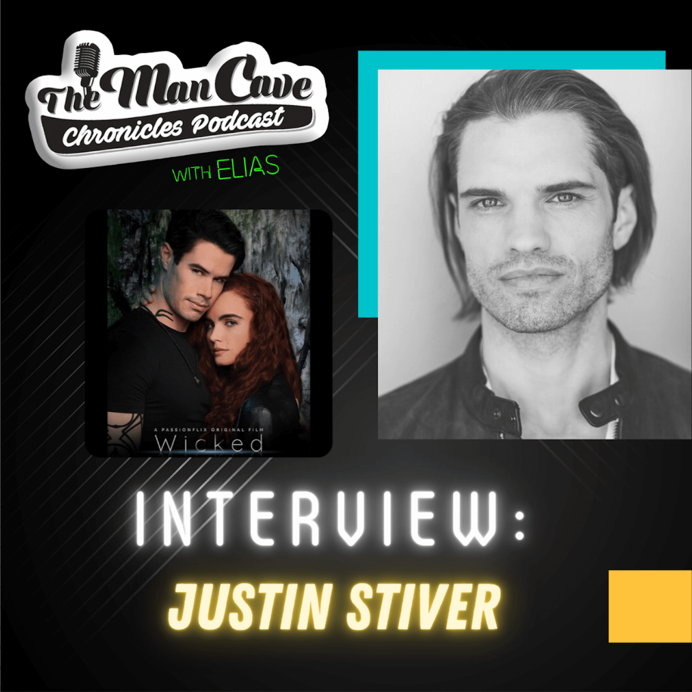 Justin Stiver talks about playing Roman on Passionflix's film Wicked