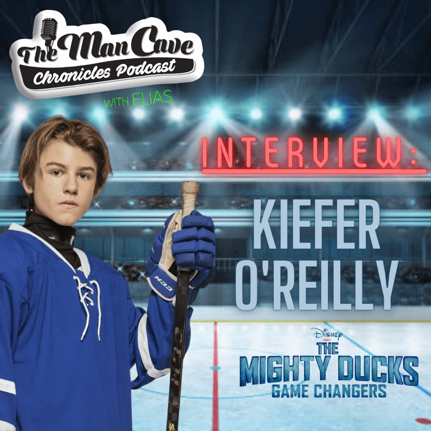 Kiefer O'Reilly talks about his role as Logan on The Mighty Ducks: Game Changers on Disney+