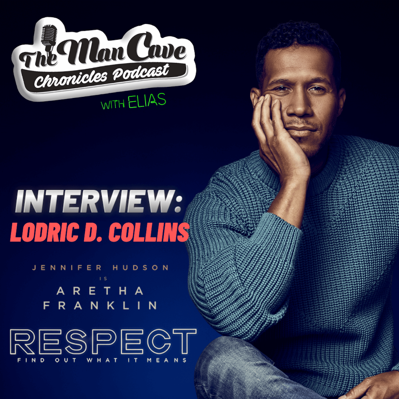 Lodric D. Collins talks about his role as Smokey Robinson in the Aretha Franklin Biopic 'Respect'