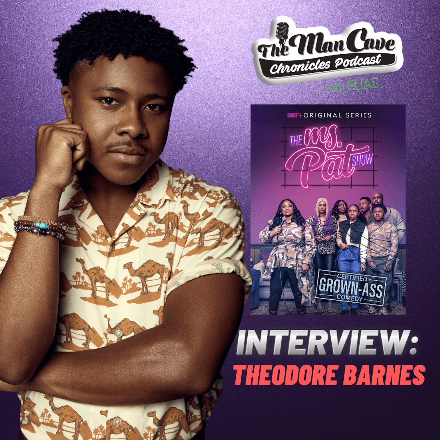 Theodore Barnes talks about his role on 'Ms. Pat Show'