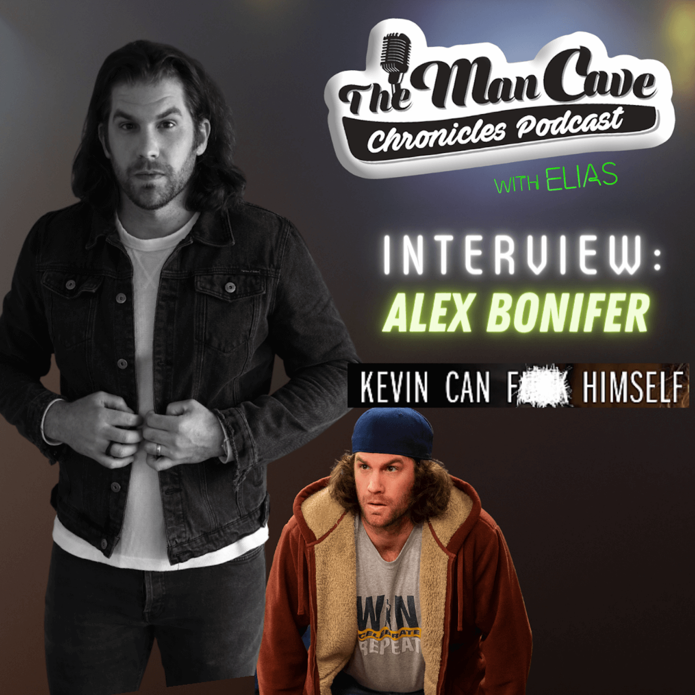 Alex Bonifer talks about his role as Neil on AMC's Series Kevin Can F**K Himself