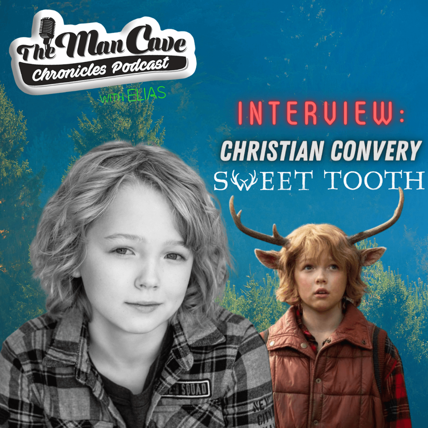 Christian Convery talks about playing Gus on Netflix's Sweet Tooth