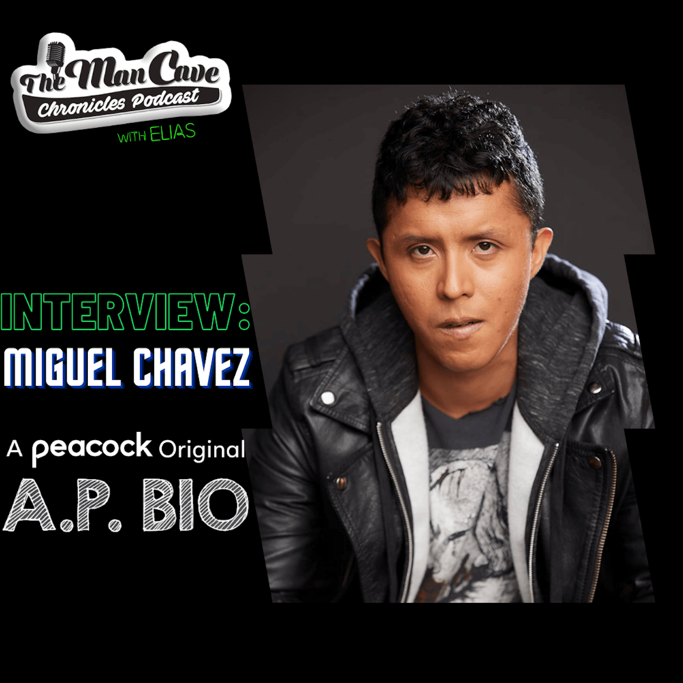 """Miguel Chavez talks about his role on Peacock's """"A.P. Bio"""""""