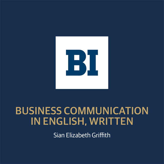 Business communication in English, Written