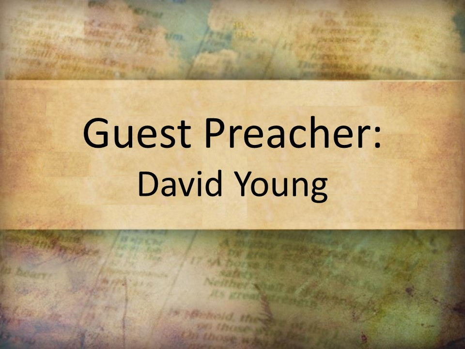 God is Active in Our Waiting (Jeremiah 29:1-14) DavidYoung