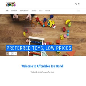 Affordable Toy World - Shop for children toys, gift cards, puzzles