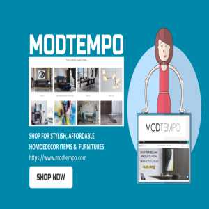 ModTempo Furniture Store - Shop for modern furniture and home decor items