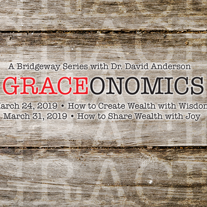 How to Create Wealth with Wisdom - Dr. David Anderson [Series: Graceonomics]