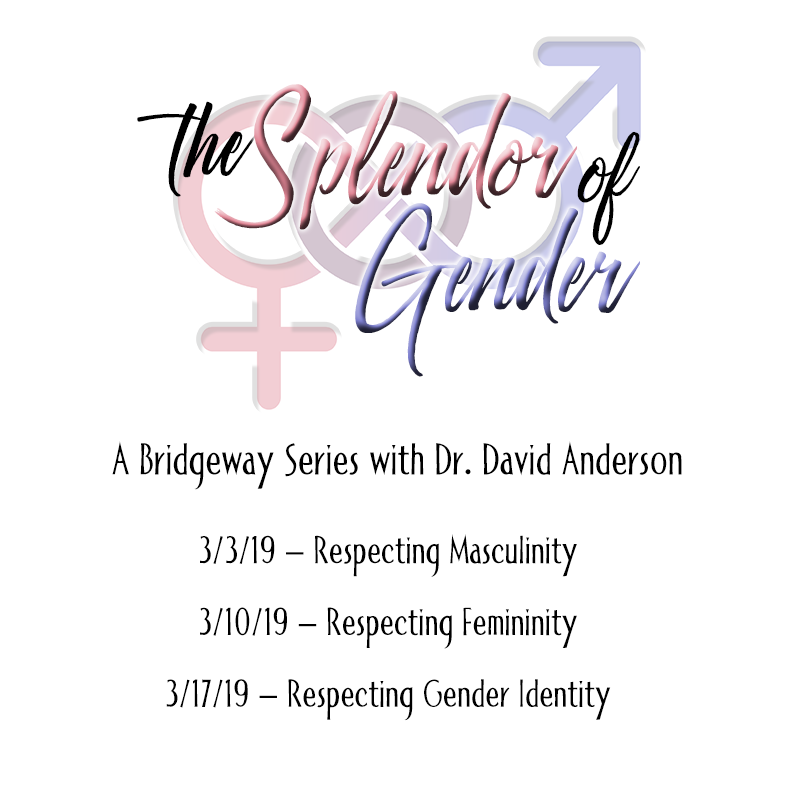 Respecting Masculinity - Dr. David Anderson [Series: The Splendor of Gender]