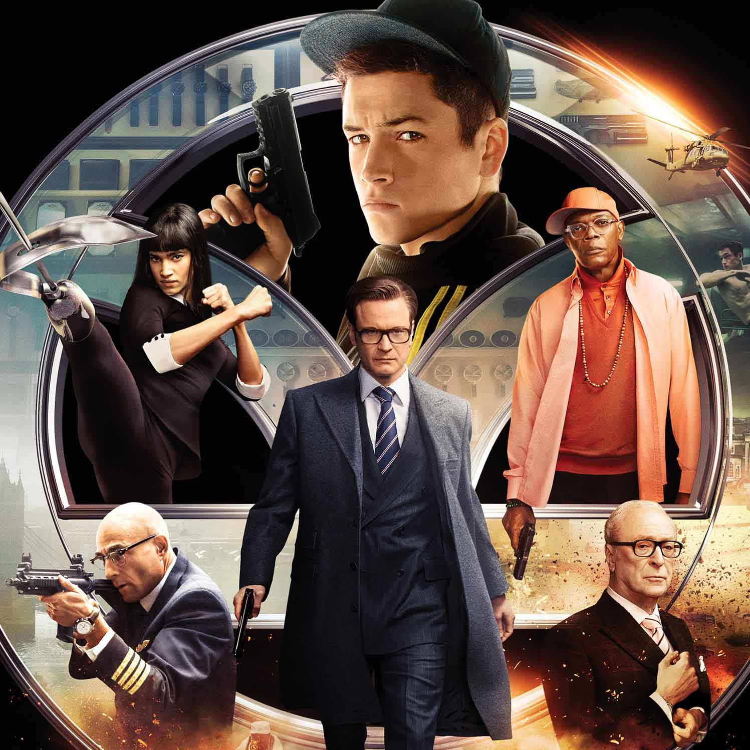 Kingsman: The Secret Service - Fish and Connor Saw a Movie