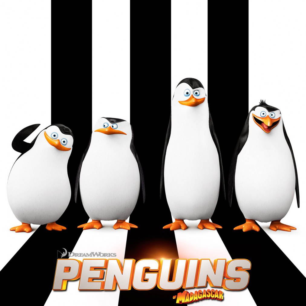 Penguins of Madagascar - Fish and Connor Saw a Movie