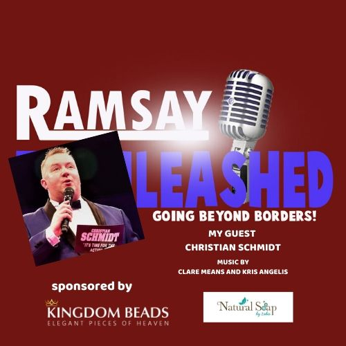 RAMSAY UNLEASHED - GOING BEYOND BORDERS MY GUEST CHRISTIAN SCHMIDT -WRESTLING AND BOXING ANNOUNCER