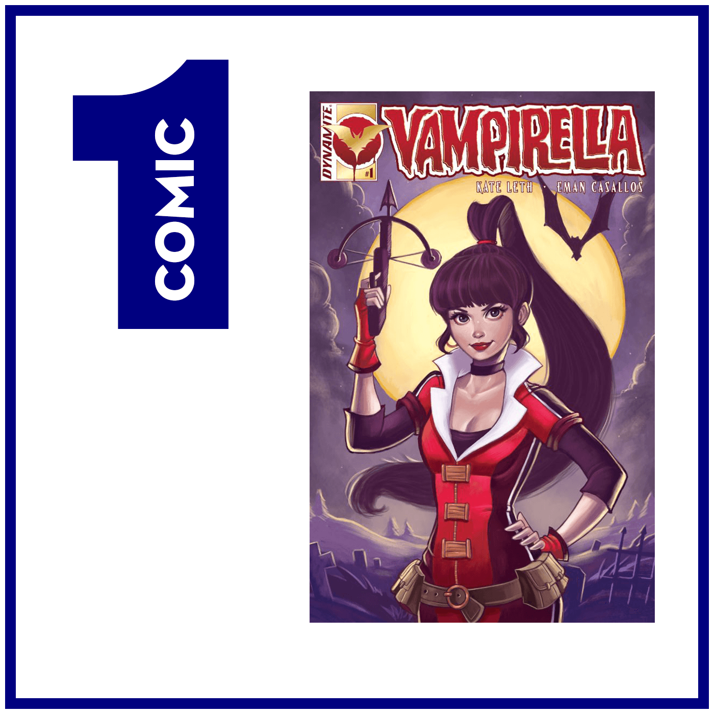 Episode 31 - Vampi, not vampy - Vampirella #1