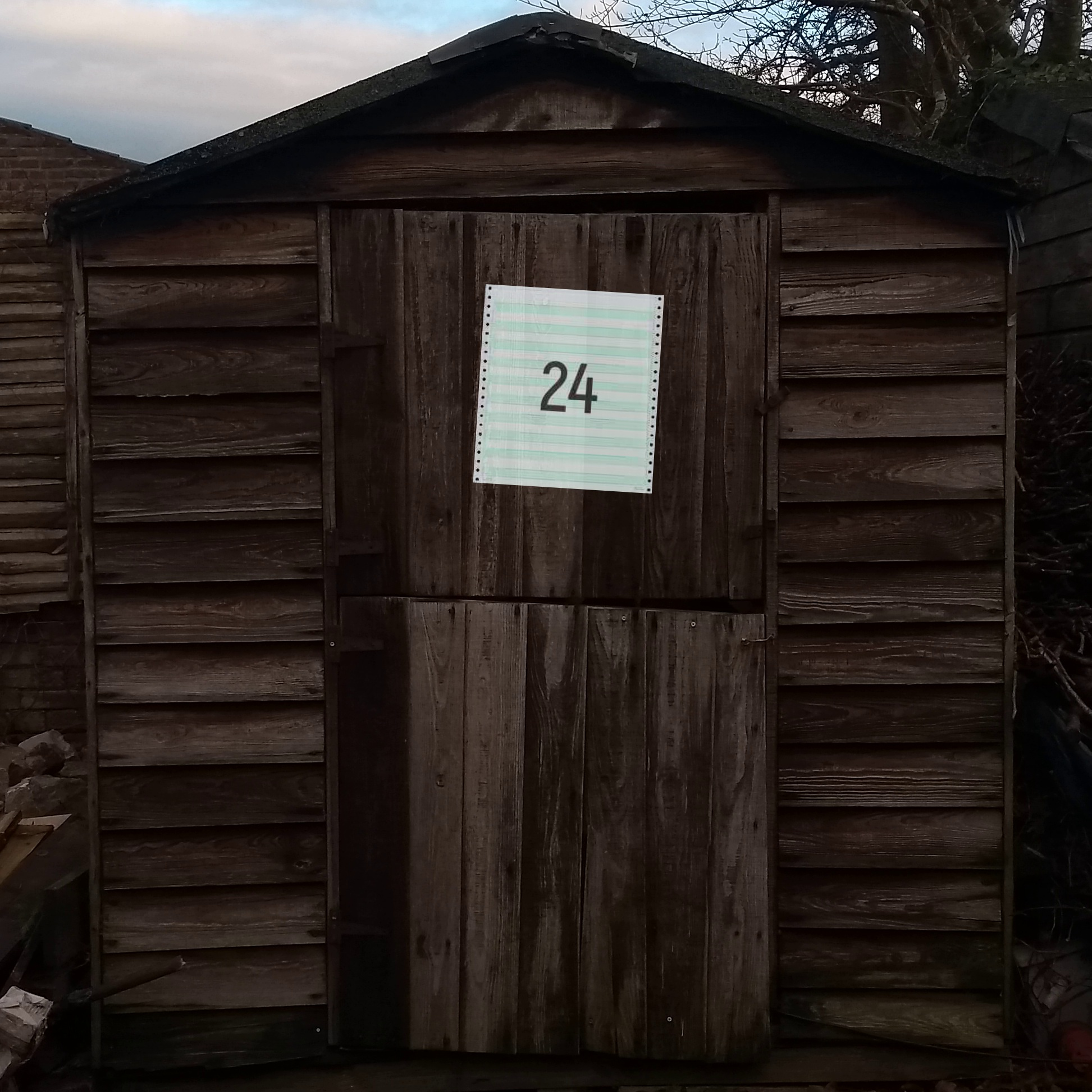 Door 24 - The Cosmic Shed Advent Calendar