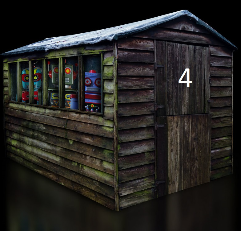Door Four - The Cosmic Shed Advent Calendar