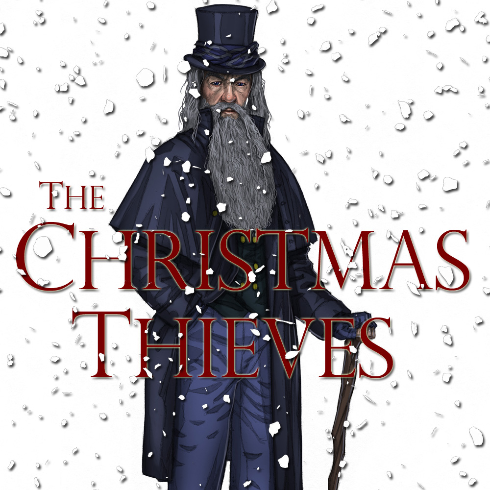 Ghost Of Christmas Yet To Come.The Christmas Thieves Stave Iv The Ghost Of Christmas Yet