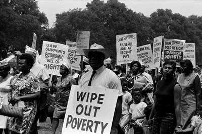 May 12 - The March to Stomp Out Poverty
