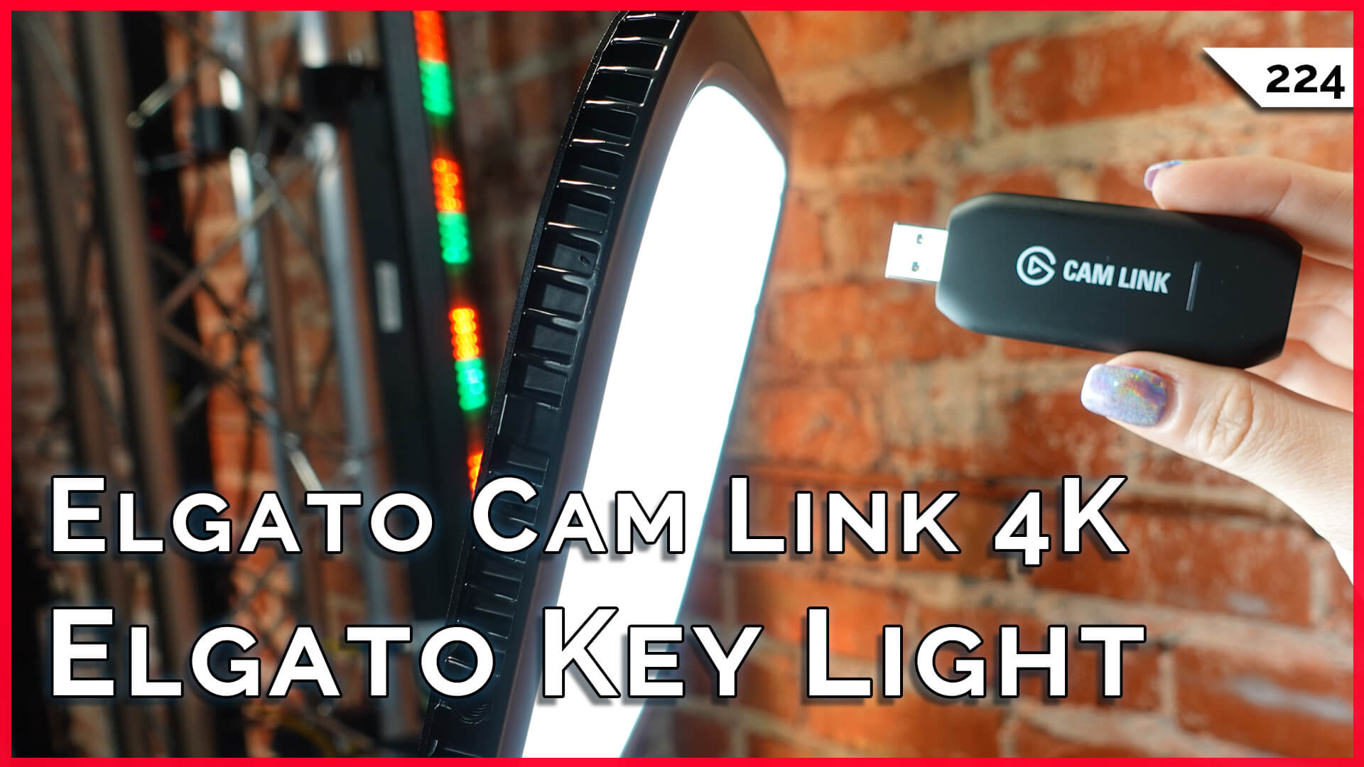Elgato Cam Link 4K, Key Lights Reviewed! Windows Quick Removal, Urban Axe Throwing!!! — TekThing 224