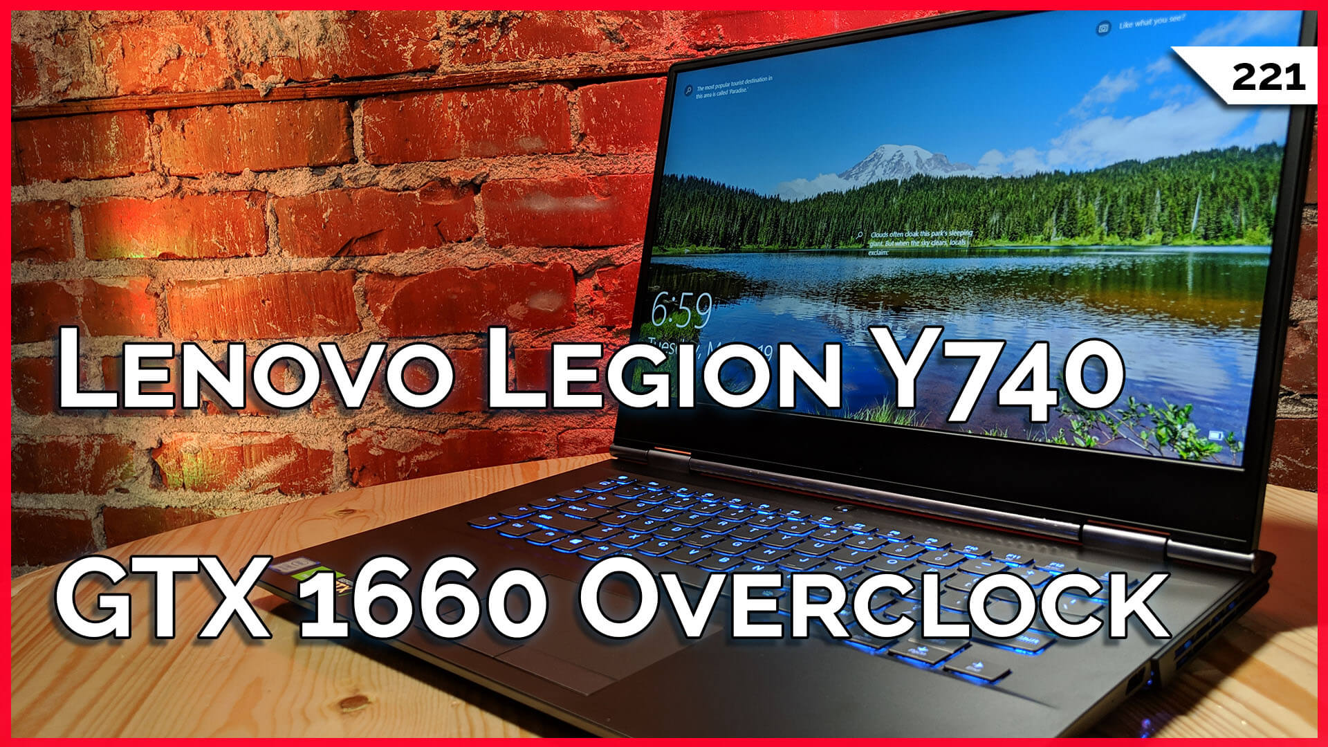 GTX 1660 Overclock! Lenovo Legion Y740 Gaming Laptop Review, Computer Desk Mods, Google Stadia! — TekThing 221