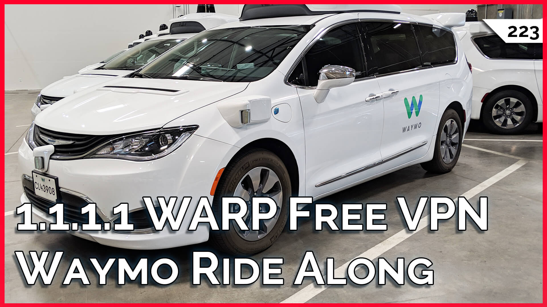 Free VPN: Cloudflare 1.1.1.1 Warp! Best Computer Power Supply, Ride In Waymo Self Driving Car! — TekThing 223
