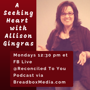 A Seeking Heart with Allison Gingras featuring Erin Dooley (A Way To Forgiveness: Healing on the Camino de Santiago/Documentary)