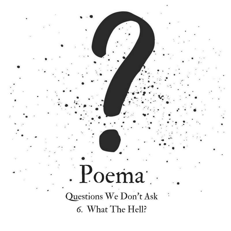 Poema S3 011 | Questions We Don't Ask 6 - 'What The Hell?' (with Charles Porter)