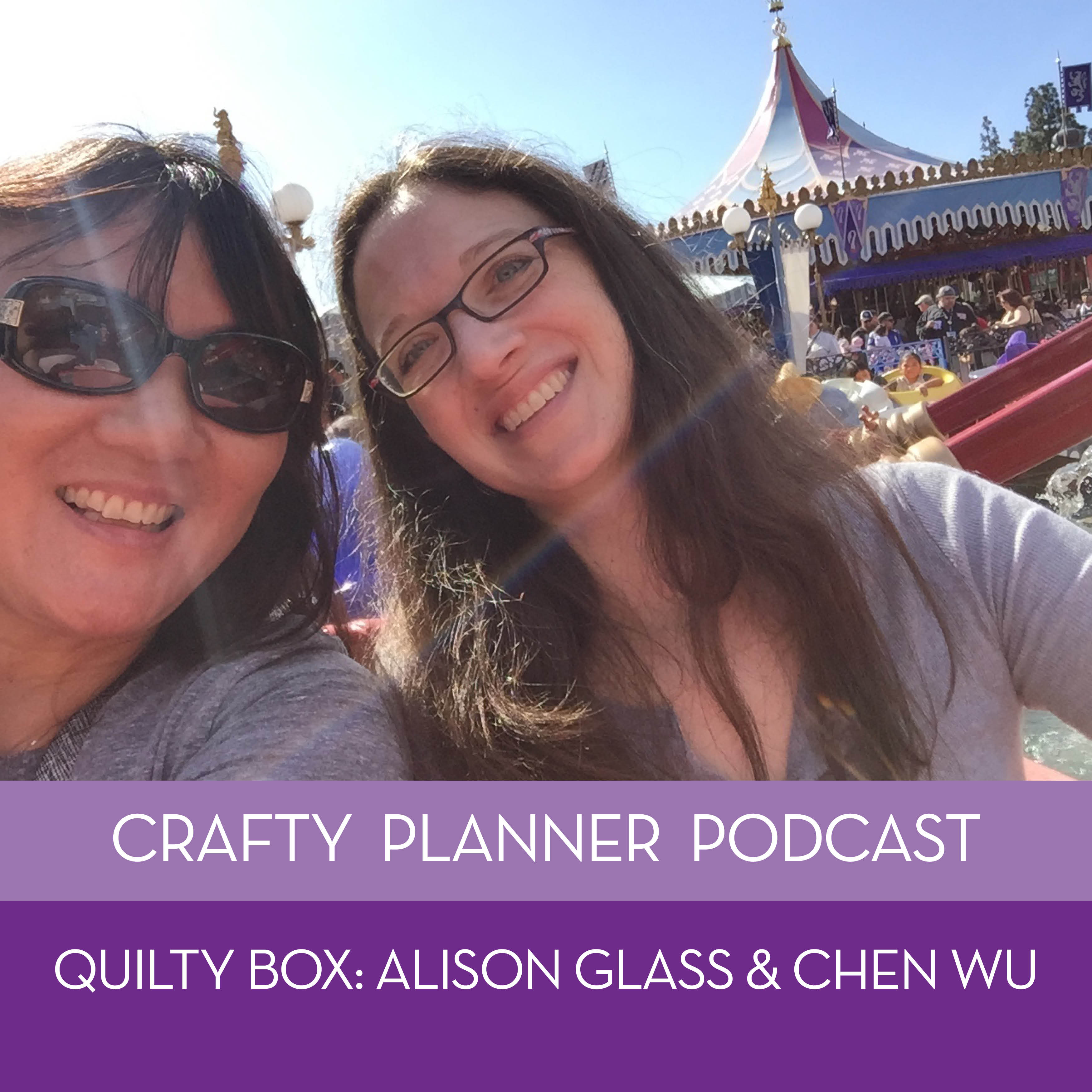 Alison Glass and Chen Wu {Quilty Box March Episode}
